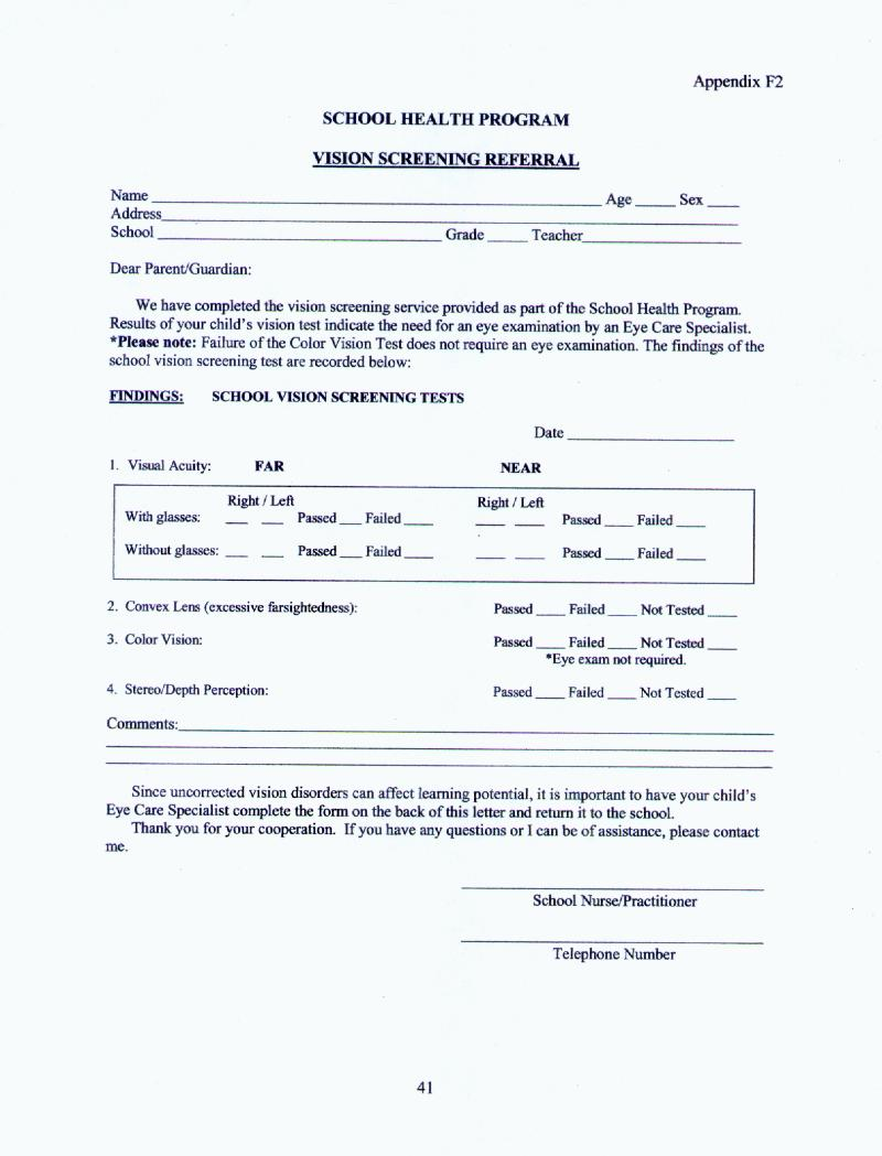 ophthalmology exam template - letter sample sending documents letter to notify a credit